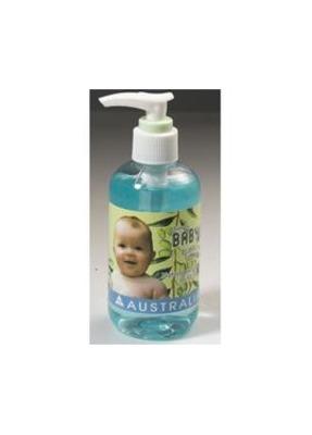 婴儿橄榄植物泡泡浴