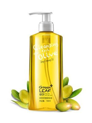 绿叶深层清洁卸妆油