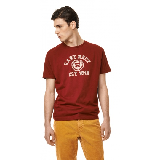 Flock Print T-Shirt