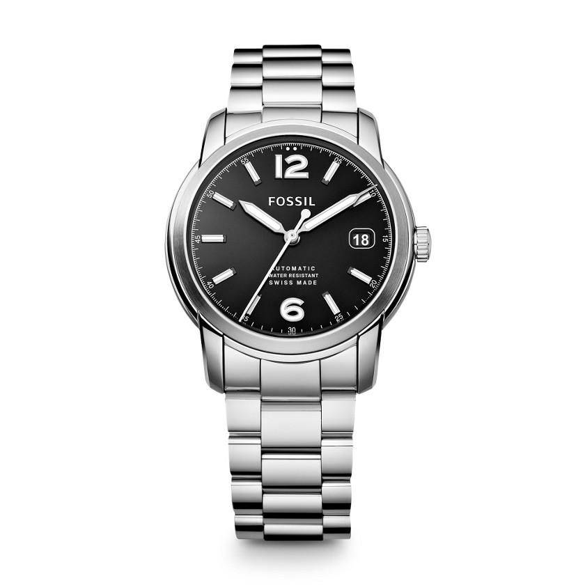 瑞士制钢表带机械腕表
