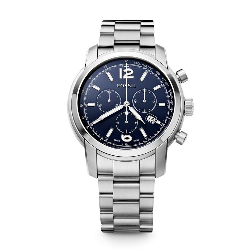 瑞士制钢表带计时码表