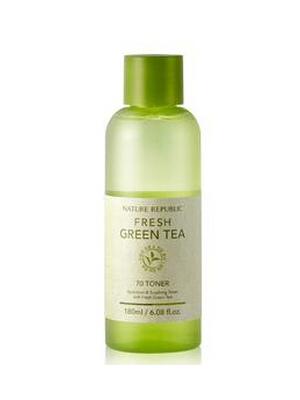 清新绿茶化妆水