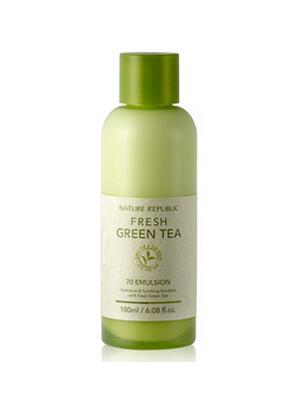 清新绿茶乳液