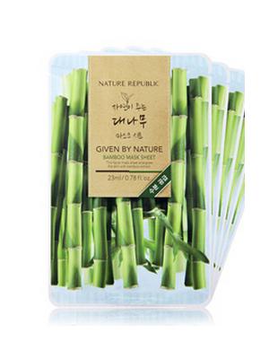 自然主张竹子面膜