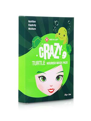 美丽狂想 海龟滋养润颜面膜