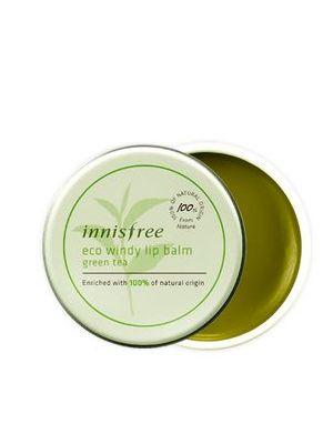 自然风润护唇凝膏-绿茶