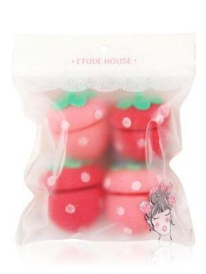 草莓海绵卷发器