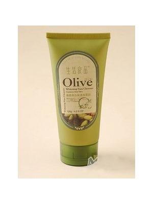 橄榄美白保湿洗面奶