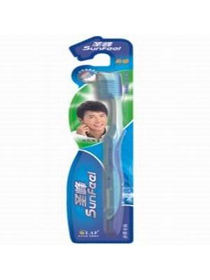 圣峰动感超白牙刷(防滑柔丝型)
