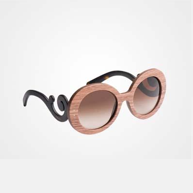 Raw简约巴洛克款式太阳镜