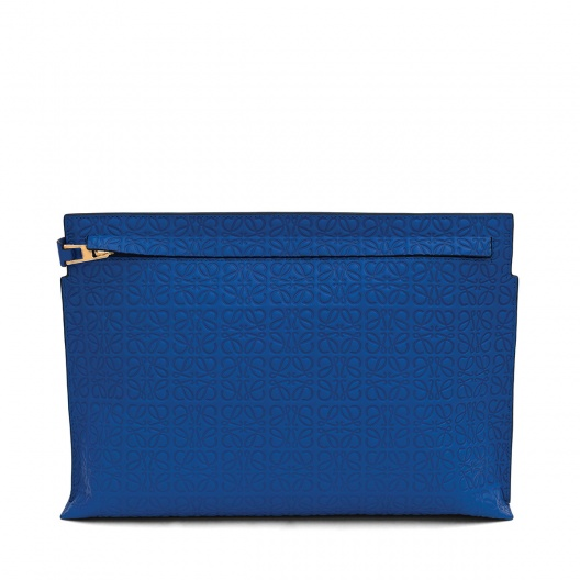 Large Pouch Electric Blue