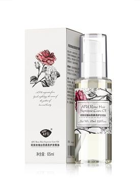 玫瑰丝质柔亮护发精油