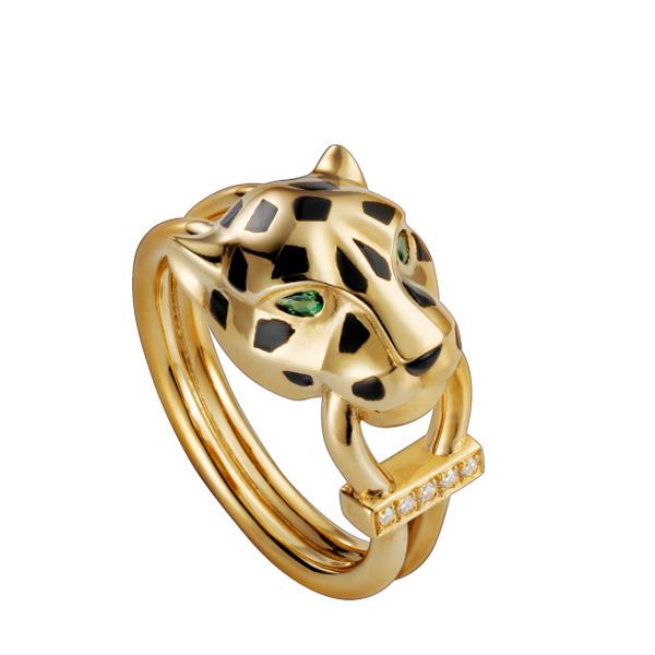 新型动物花纹戒指
