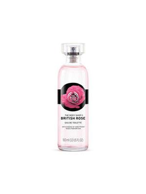 美体小铺英伦玫瑰淡香水