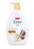 多芬丰盈宠肤系列沐浴乳-乳木果和香草