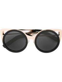 'Erdem'圆框太阳眼镜