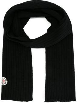 罗纹针织围巾