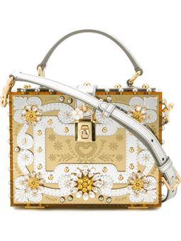 'Dolce'盒形手提包