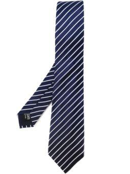 条纹提花领带