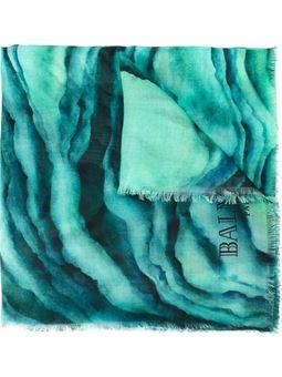 斑马纹围巾