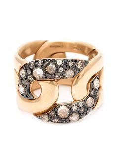 密镶钻石戒指