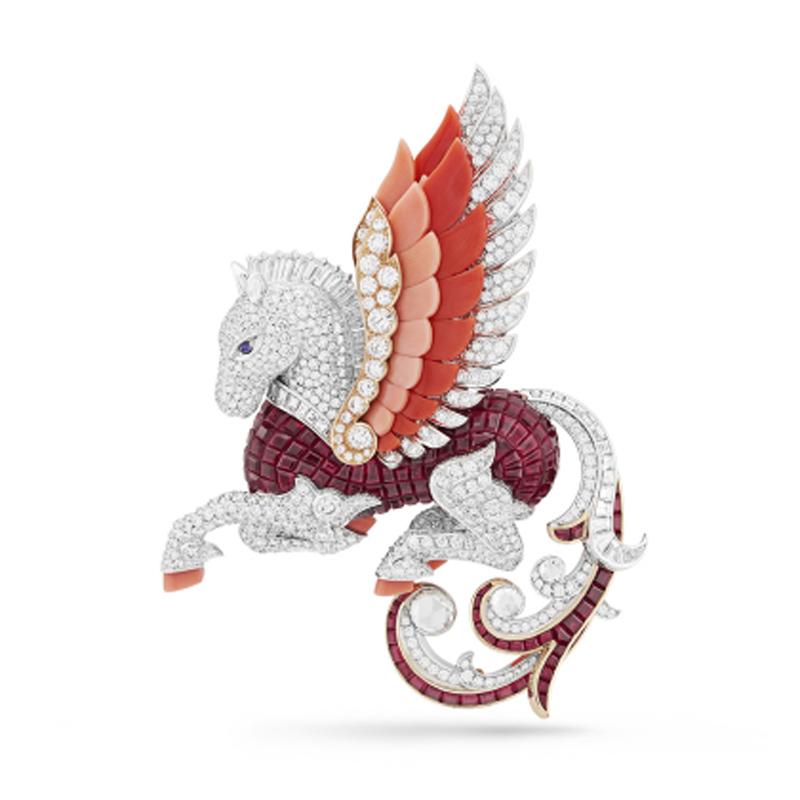 phoenix胸针