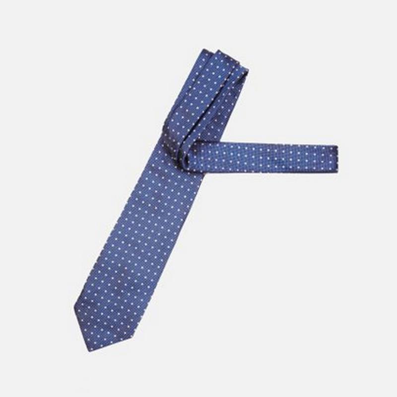色织真丝波点领带