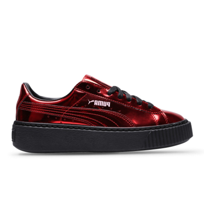 Basket Platform Metallic  女子 低帮鞋